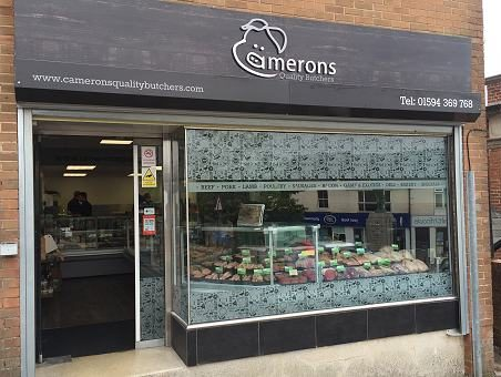 Camerons Quality Butchers in The Forest of Dean