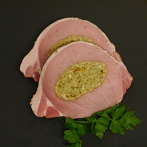 PORK LOIN STEAKS STUFFED (2 X 200gr)