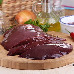 SLICED PIGS LIVER 500gr