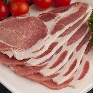 ENGLISH SLICED SHORT BACK BACON 500gr