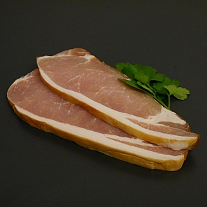 ENGLISH SLICED SMOKED BACK BACON 500gr