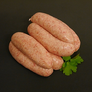 SAUSAGES PORK AND APPLE (6 sausages)