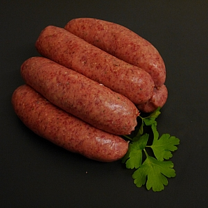 SAUSAGES VENISON RED WINE AND HERB (6 sausages)