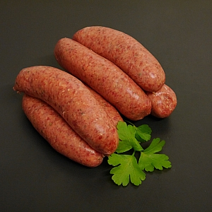SAUSAGES WOODLAND (MIXED GAME) (6 sausages)