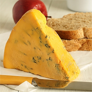 SHROPSHIRE BLUE CHEESE (sold per 100 grams)
