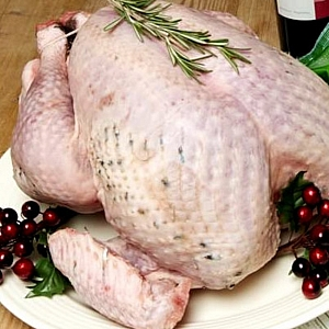 TURKEY ORGANIC BRONZE WHOLE - Christmas order item