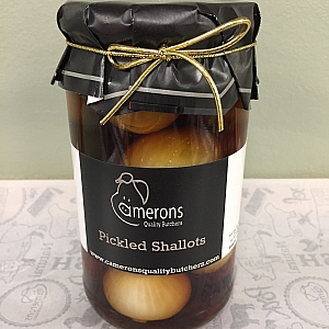 PICKLED SHALLOTS IN MALT VINEGAR