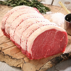 ANGUS ROLLED SIRLOIN (sold per 500g) - easter order item