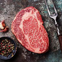 view ABERDEEN ANGUS RIB EYE STEAK details
