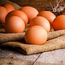 view FREE RANGE LITTLE DEAN EGGS (half doz) details