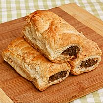 view HAND MADE SAUSAGE ROLL (each) details