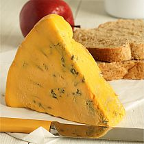 view SHROPSHIRE BLUE CHEESE (sold per 100 grams) details
